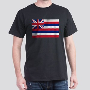 Beloved Hawaii Flag Modern St Dark T-Shirt